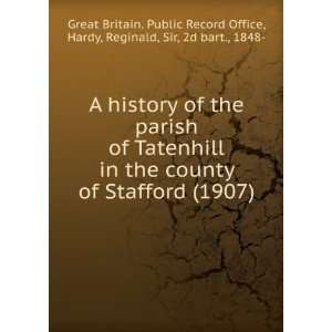 A history of the parish of Tatenhill in the county of Stafford