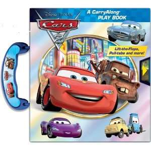 CarryAlong® Play Book (Disney Pixar Cars 2 Carryalong Play Book
