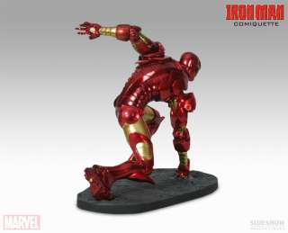 SIDESHOW MARVEL IRON MAN COMIQUETTE STATUE EXCLUSIVE