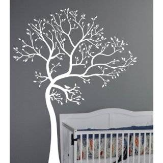 Large 6ft Tree Wall Decal Deco Art Sticker Mural   White