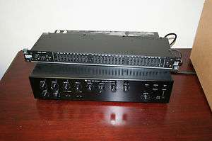 Complete Sound System TOA Series II AMP Rane ME30Band Equalizer