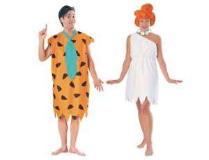 Fred & Wilma Flintstone Flintstones Cartoon Costume