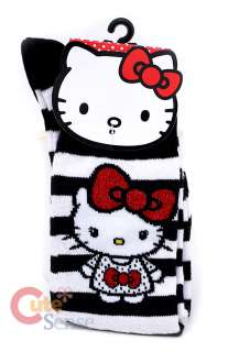 Sanrio Hello Kitty Big Bow Knee High Socks   LoungeFly