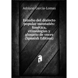 Estudio del dialecto popular montañés fonética