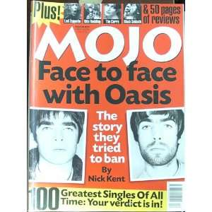 Mojo Magazine Issue 49 (December, 1997) (Oasis cover) Oasis, Led