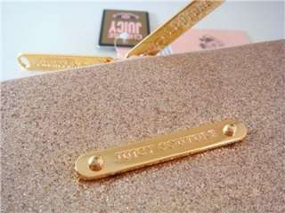 Juicy Couture Stars Stardust Glitter 13 Laptop Sleeve Case Bag Gold