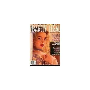 com Barely Legal Anniversary Issue 1995 (too young to party?) Books