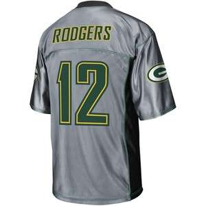 NFL   Mens Green Bay Packers #12 Aaron Rodgers Shadow Jersey