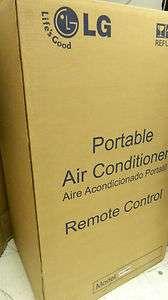 LG LP0910WNR Portable Air Conditioner 9000BTU w/ Remote 48231363051