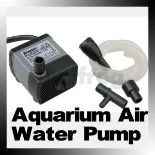 Submersible Aquarium Fish Tank Air Water Fountain Pump 220 240V 50Hz 2