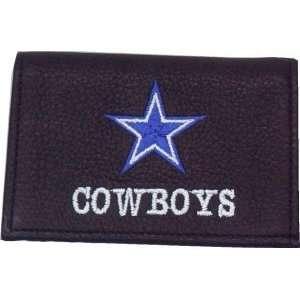NFL DALLAS COWBOYS FOOTBALL LEATHER TEAM LOGO WALLET