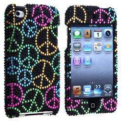 Peace Sign Snap on Case for Apple iPod Touch 4th Gen
