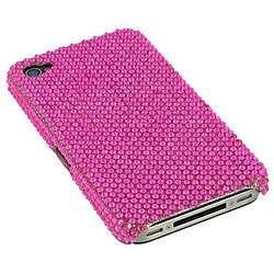 Apple iPhone 4 Pink Rhinestone Case