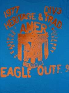 American Eagle AE Mens Blue Heritage T Shirt New NWT