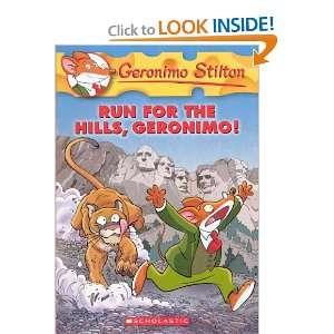 Run For The Hills, Geronimo (Turtleback School & Library