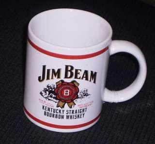 COFFEE CUP   KENTUCKY STRAIGHT BOURBON WHISKEY   JIM BEAM MUG