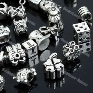 Wholesale Tibetan Silver Spacer Bead For Charm Bracelet
