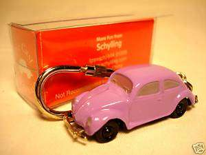 VW Beetle 1948 Volkswagon Bug key chain ho 1/87 scale |