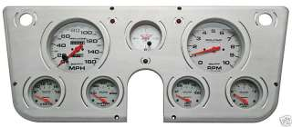 67 72 CHEVY TRUCK BILLET GUAGE PANEL AUTOMETER GUAGES