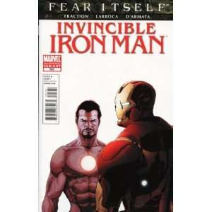 Invincible Iron Man #503 2nd Print Variant FRACTION