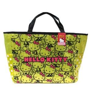 Yellow W/ Hello Kitty Print Design   Sanrio Hello Kitty