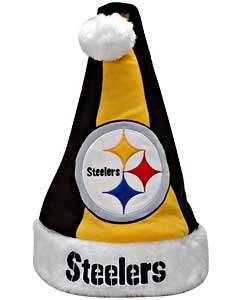 Colorblock Santa Hat   Pittsburgh Steelers