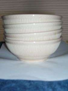 Four (4) Syracuse China * Adobe Ware * BOWLS * Embossed