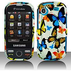 Colorful Butterfly Samsung Messager Touch Protector Case