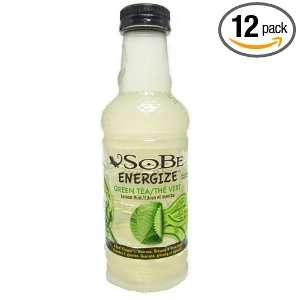 SoBe Green Tea, 20 Ounce Bottles (Pack: Grocery & Gourmet Food