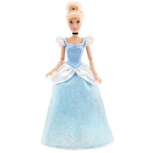 DISNEY CINDERELLA POSEABLE DISNEY PRINCESS. BLUE DRESS
