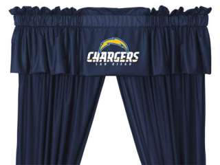 nEw SAN DIEGO Chargers CURTAINS/Drapes+VALANCE Sports