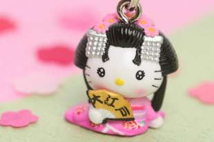 Brand New Lovely Cell Phone Strap Charm   Hello Kitty HK216