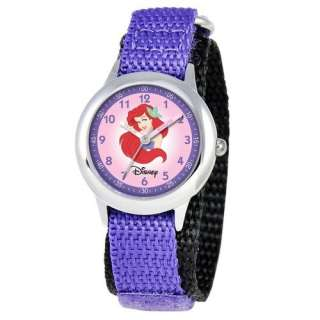Disney Kids Ariel Time Teacher Watch in Purple Watches