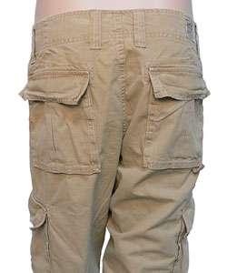 Lucky Brand Jeans Mens Khaki Cargo Pants  Overstock
