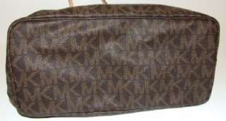 Michael Kors Jet Set Medium PVC Travel Logo Tote Bag Purse Handbag