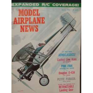Model Airplane News (March, 1966) Staff Books