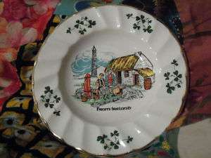 CARRIGALINE POTTERY SMALL PLATE