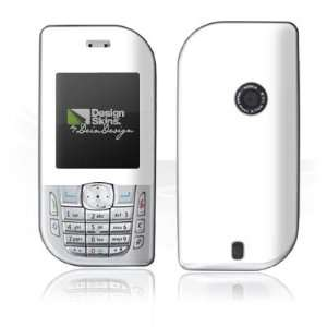 Design Skins for Nokia 6670   White Design Folie