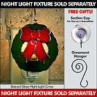 Switchables Stained Glass Night Light Cover   WREATH 78