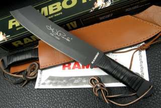 Rambo 4 Movie Tactical Jungle Survival Bowie Hunting Combat Knife EX
