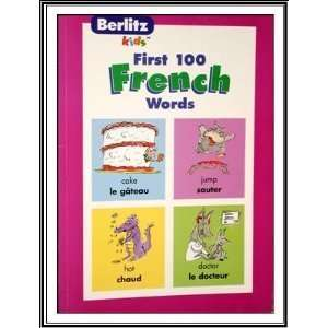 First 100 French words (9782831570785) Books
