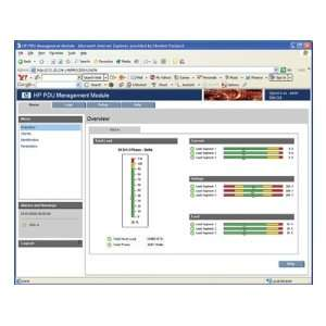 HP Product Type PDU Management Module: Computers
