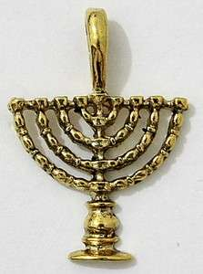 Hanukkah Menorah Israel Jewish Judaica Pendants   DIY Jewelry Making