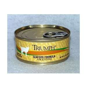 Triumph Seafood Formula For Kittens 24/5.5 oz cans : Pet