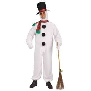 Lets Party By Forum Novelties Plush Snowman Adult Costume