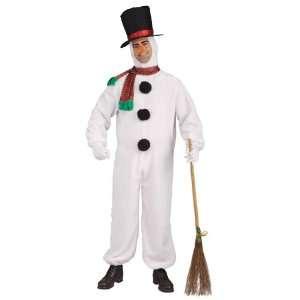 Lets Party By Forum Novelties Plush Snowman Adult Costume