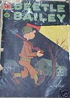 NICE VINTAGE 1961 DELL COMIC BOOK BEETLE BAILEY
