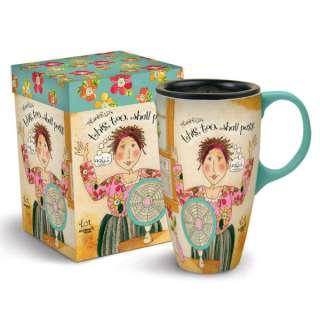 Lang Hot Mama Latte Ceramic Mug Coffee Cup Karen H Good