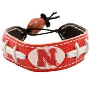 Nebraska Huskers Handmade Seam Bracelet Team Color