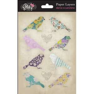 Glitz Design   Dance in Sunshine Collection   Paper Layers